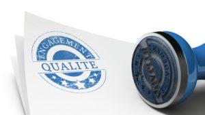 Engagement qualité, garantie satisfaction client.